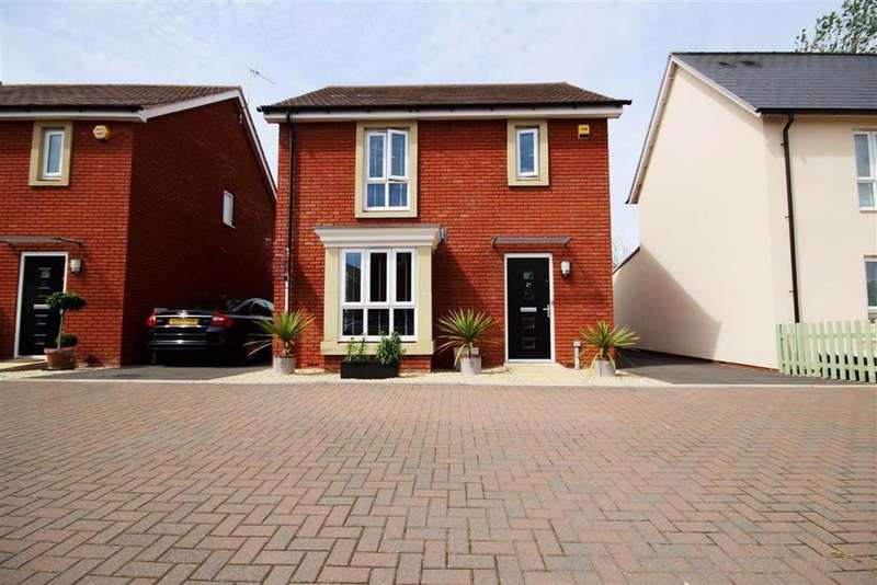 3 Bedrooms Detached House for sale in Whittle Close, Stoke Orchard, Cheltenham, GL52