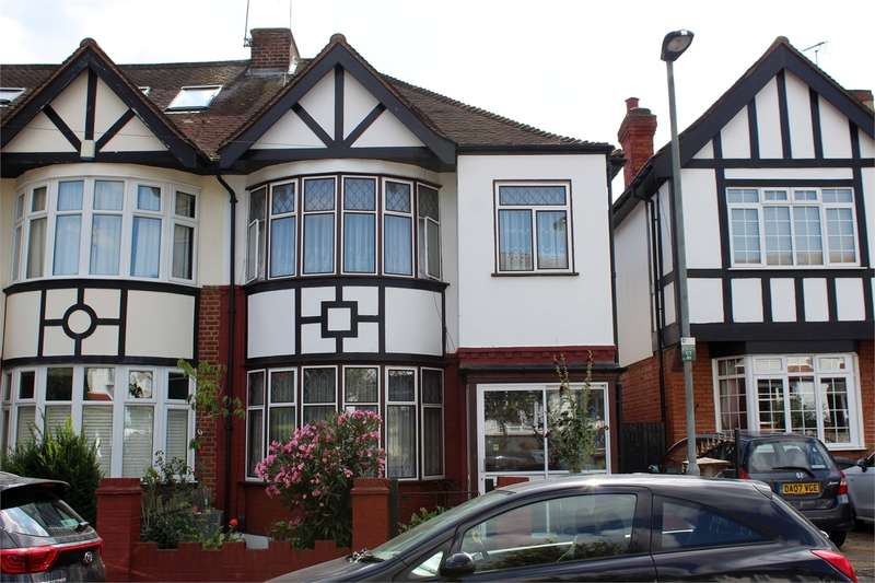 3 Bedrooms End Of Terrace House for sale in Crescent Rise, Alexandra Park, London
