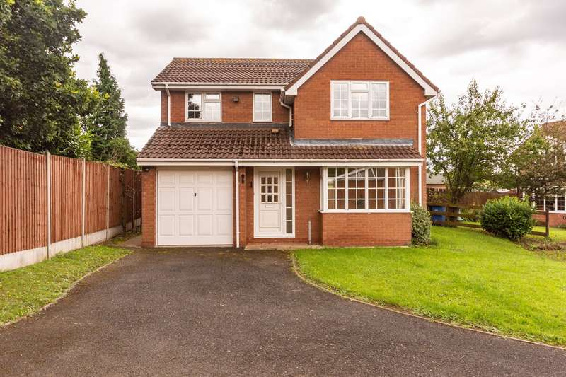 4 Bedrooms Detached House for sale in Foxleigh Meadows, Handsacre, Rugeley, WS15
