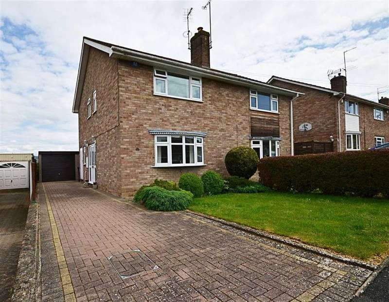 3 Bedrooms Semi Detached House for sale in Oldbury Orchard, Churchdown