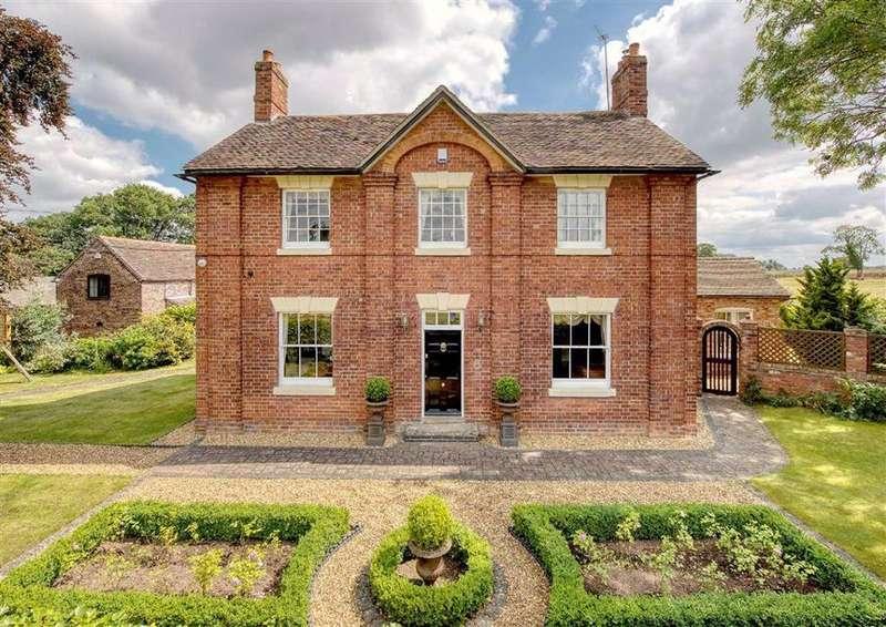 5 Bedrooms Detached House for sale in Norton Villa, Bridgnorth Road, Norton, Shifnal, Shropshire, TF11
