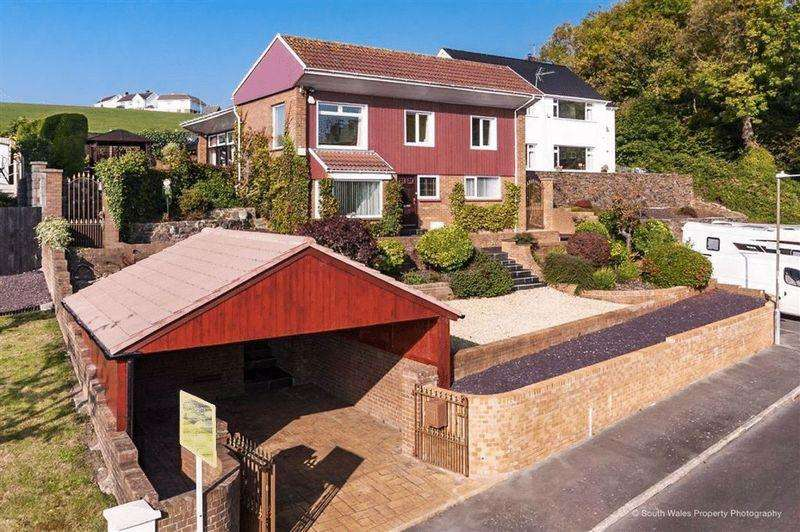 5 Bedrooms Detached House for sale in Maes-Y-Coed, The Knap, Barry