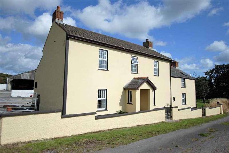 4 Bedrooms Detached House for sale in Imble Farm, Imble Lane, Pembroke Dock
