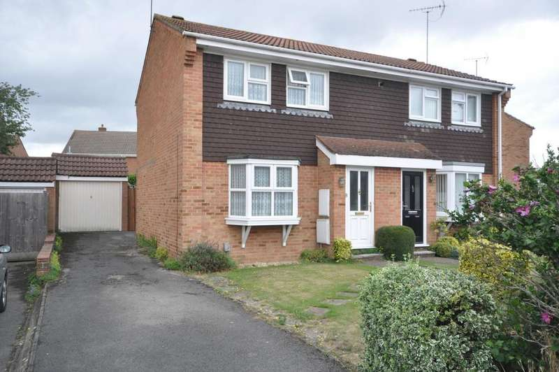 2 Bedrooms Semi Detached House for sale in Ashtrees Road, Woodley, Reading, RG5 4LP