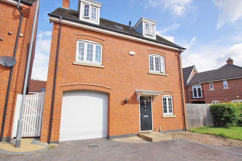 4 Bedrooms Detached House for sale in Carnoustie Drive, Lincoln