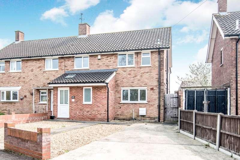 3 Bedrooms Semi Detached House for sale in Woodcote, Putnoe, Bedford, MK41