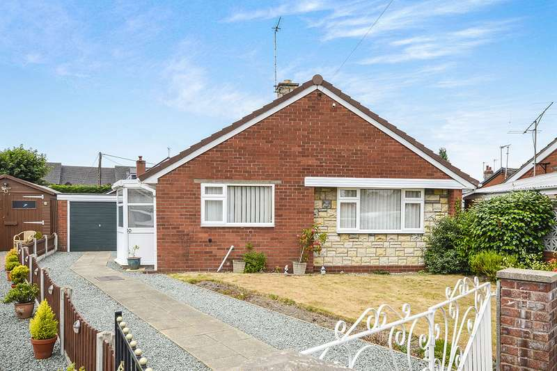2 Bedrooms Detached Bungalow for sale in St. Davids Close, Gobowen, Oswestry, Shropshire, SY11