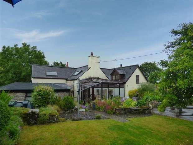 4 Bedrooms Detached House for sale in Old School Lane, Eryrys, Mold, Denbighshire