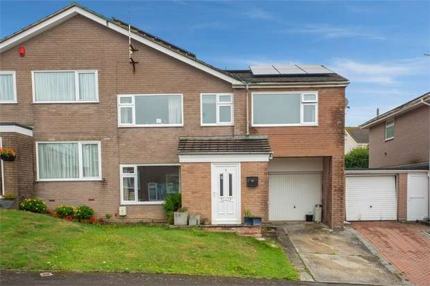 5 Bedrooms Semi Detached House for sale in Beech Close, Torpoint, Cornwall