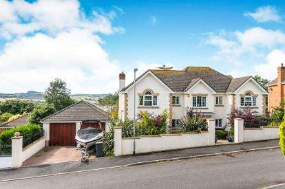 4 Bedrooms Detached House for sale in Bishopsteignton, Devon