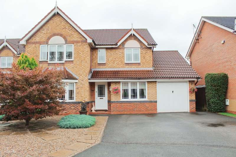 4 Bedrooms Detached House for sale in Bramble Close, Middlewich, Cheshire, CW10