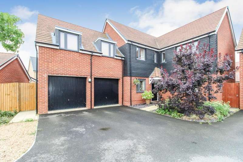 5 Bedrooms Detached House for sale in Parker Road, Wootton, Beds, MK43