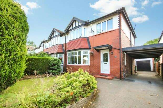 3 Bedrooms Semi Detached House for sale in Hillside Road, Hale