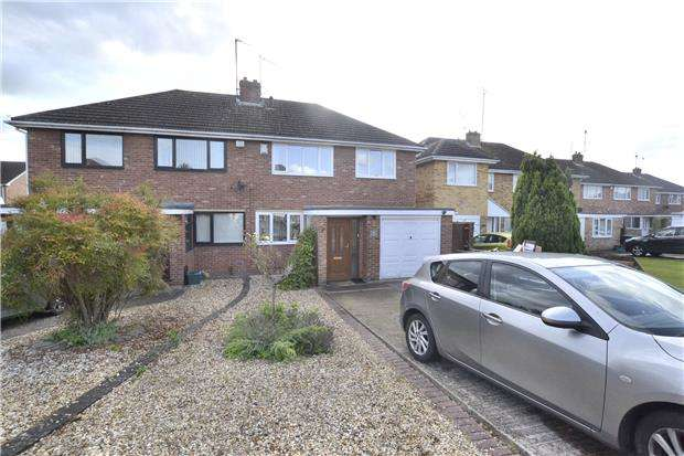 3 Bedrooms Semi Detached House for sale in Porchester Road, Hucclecote, GLOUCESTER, GL3 3DY