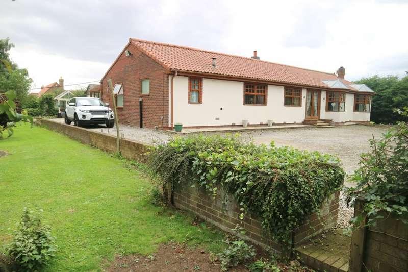 4 Bedrooms Bungalow for sale in Four Acres Newfield Lane, Lelley, Lelley, HU12
