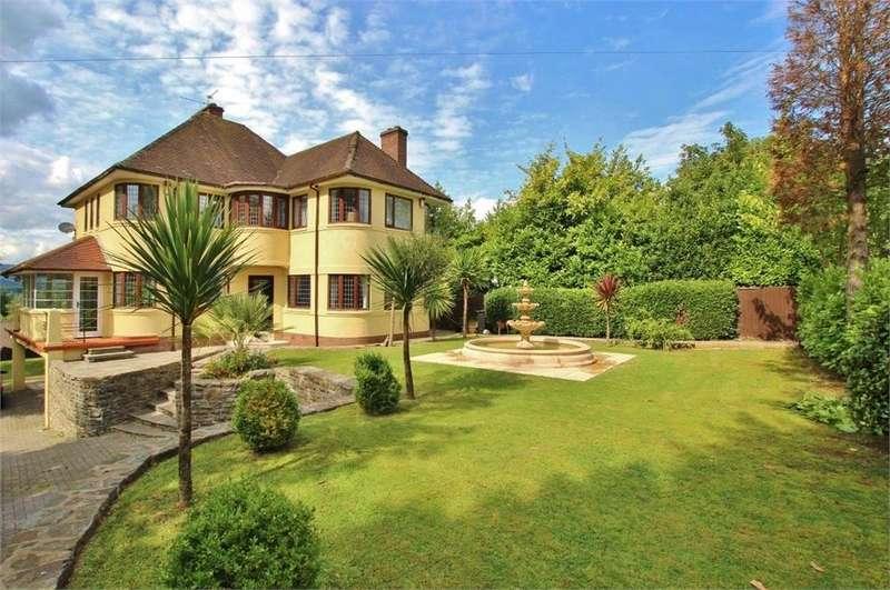 5 Bedrooms Detached House for sale in Ridgeway, Newport, Gwent