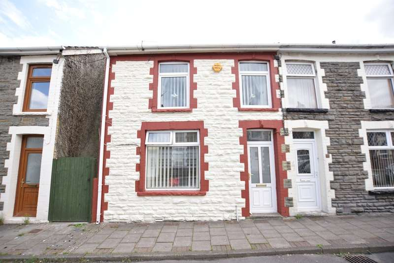 3 Bedrooms Semi Detached House for sale in Llewellyn Street, Gilfach, Bargoed