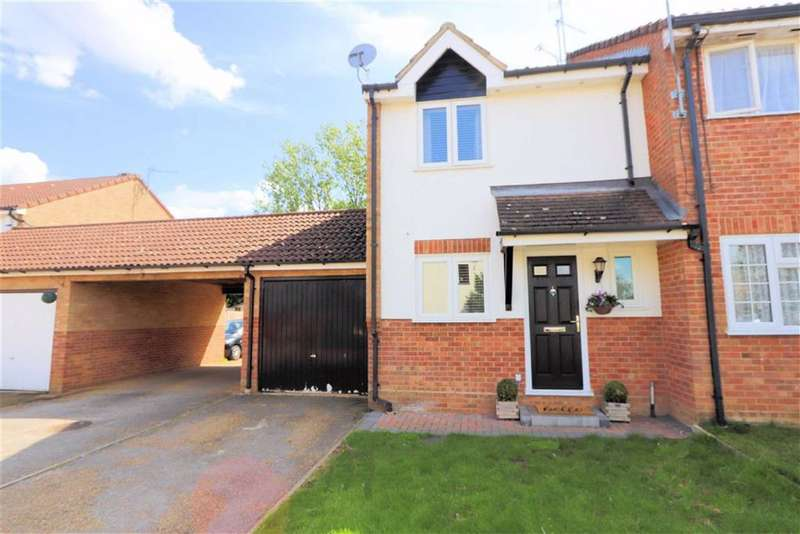 3 Bedrooms Semi Detached House for sale in Markwell Wood, Harlow