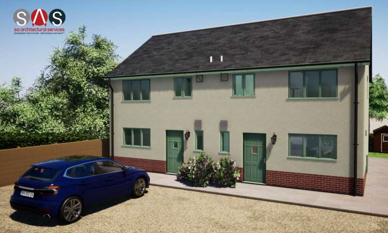 3 Bedrooms Semi Detached House for sale in Plot 1,The Green, Attleborough
