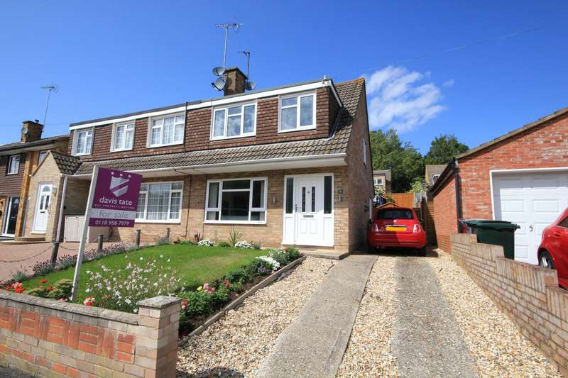 3 Bedrooms Semi Detached House for sale in Trelleck Road, Reading, RG1