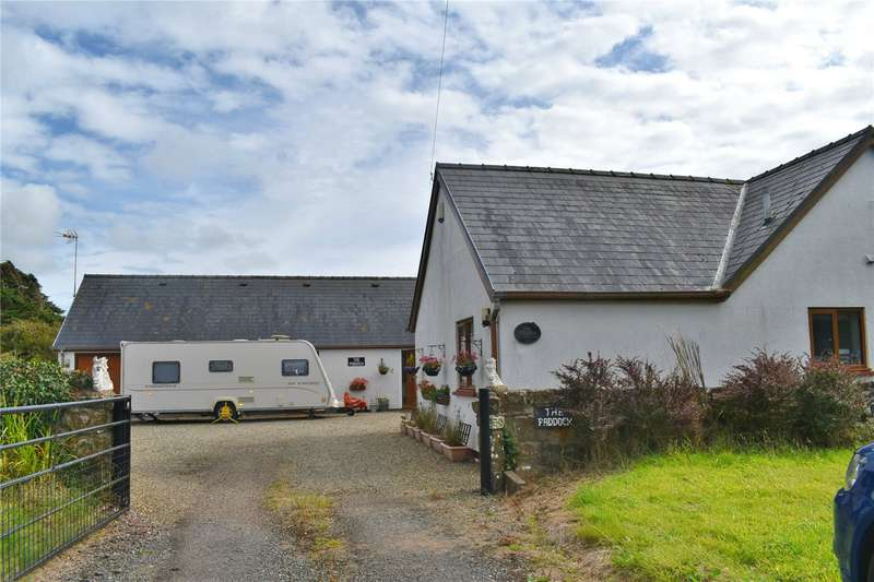6 Bedrooms Detached Bungalow for sale in The Paddock, Hundleton, Pembroke, Pembrokeshire
