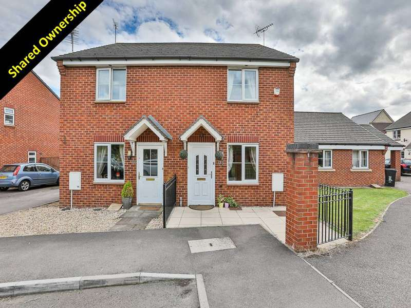 3 Bedrooms Town House for sale in Watermint Drive Tuffley, Gloucester, GL4