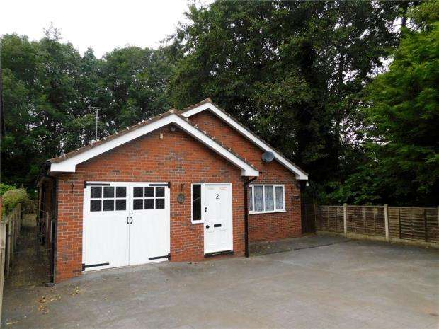 2 Bedrooms Detached Bungalow for sale in Parkland View, Shrewbridge Road, Nantwich
