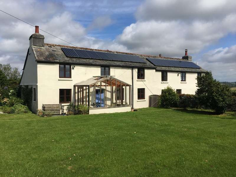 4 Bedrooms House for sale in Mount Pleasant Farmhouse, Tideford