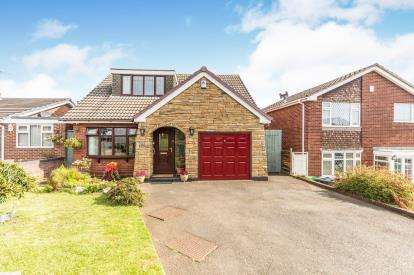 3 Bedrooms Detached House for sale in Hopkins Drive, West Bromwich, West Midlands