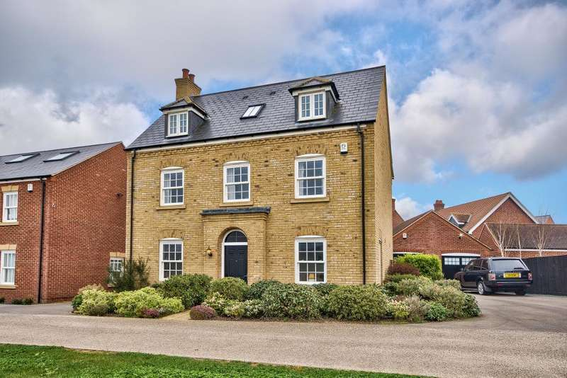 5 Bedrooms Detached House for sale in Woden Gardens, Great Denham, Bedford, MK40 4GU
