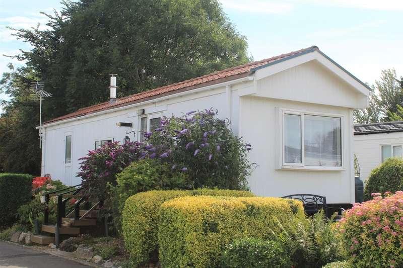 1 Bedroom Park Home Mobile Home for sale in Park End, Summer Lane, Banwell