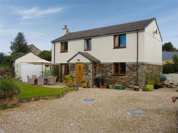 4 Bedrooms Detached House for sale in Orchard Cottage, Talskiddy, St Columb, Cornwall