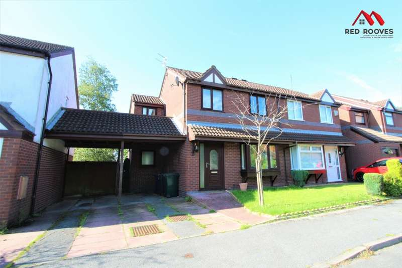 4 Bedrooms Semi Detached House for sale in Convant Close, Aughton, L39