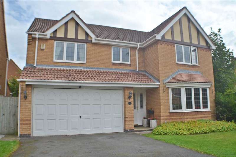 4 Bedrooms Detached House for sale in Colorado Close, Great Sankey, Warrington