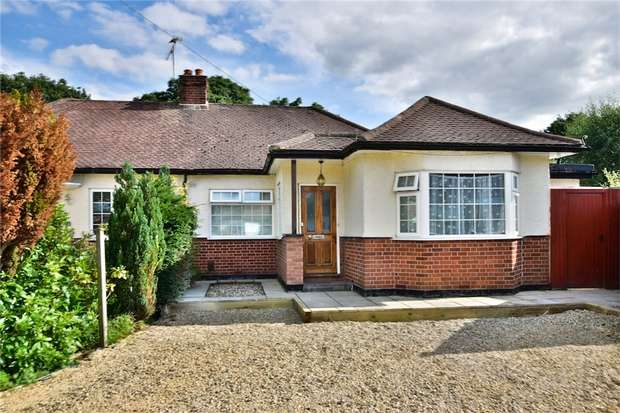 4 Bedrooms Semi Detached Bungalow for sale in Rostrevor Gardens, Iver Heath, Buckinghamshire