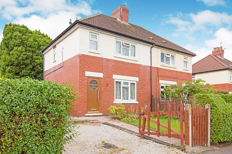 2 Bedrooms Semi Detached House for sale in Coronation Road, Congleton, Cheshire, CW12
