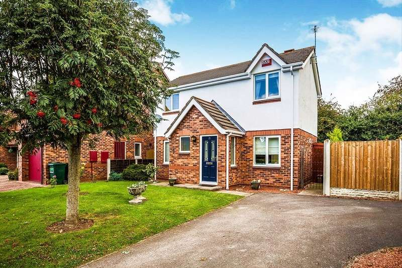 3 Bedrooms Detached House for sale in Robinsons Croft, Chester, CH3
