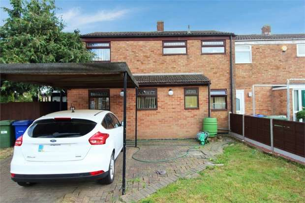 3 Bedrooms End Of Terrace House for sale in Austen Close, Tilbury, Essex