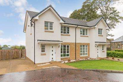 3 Bedrooms Semi Detached House for sale in Manse Gardens, Monkton