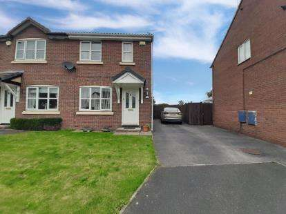 2 Bedrooms Semi Detached House for sale in Larkin Close, New Ferry, Wirral, CH62