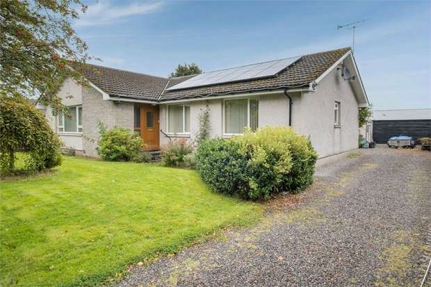 4 Bedrooms Detached Bungalow for sale in Main Street, Sauchen, Inverurie, Aberdeenshire