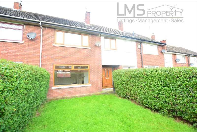 3 Bedrooms Terraced House for sale in Abbotts Way, Winsford