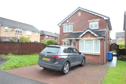 4 Bedrooms Detached House for sale in Mary Fisher Crescent, Dumbarton