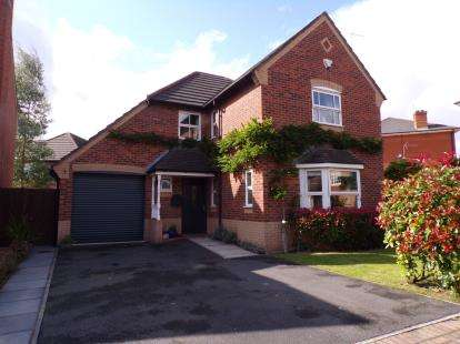 4 Bedrooms Detached House for sale in Beckett Drive, Winwick, Warrington, Cheshire