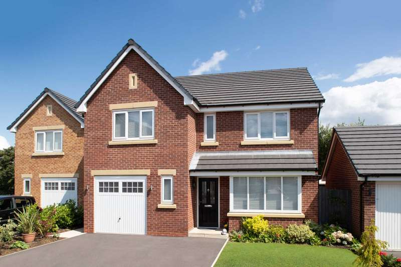 4 Bedrooms Detached House for sale in The Shakespeare, Marton Meadows, Cropper Road, Westby, Blackpool, FY4 5LB