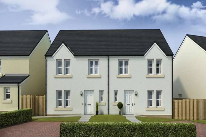 3 Bedrooms Semi Detached House for sale in Mains Farm, North Berwick, East Lothian, EH39