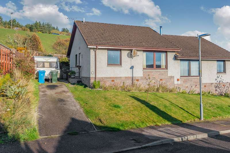 2 Bedrooms Semi Detached Bungalow for sale in Feddon Hill, Fortrose, Ross-Shire, IV10