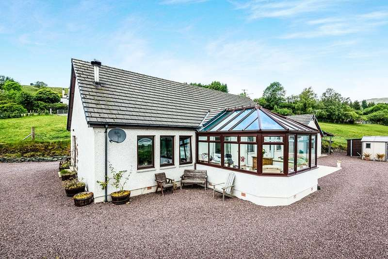3 Bedrooms Detached House for sale in Lochcarron, Lochcarron, Strathcarron, Ross-Shire, IV54