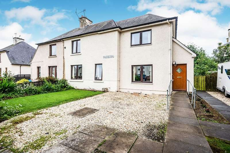 5 Bedrooms Semi Detached House for sale in Millcraig Road, Dingwall, Ross-Shire, IV15