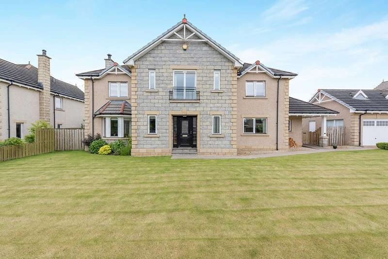 5 Bedrooms Detached House for sale in Osprey Rise, Fowlis Easter, Dundee, DD2